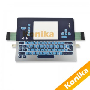 Hot selling CIJ inkjet keyboard for videojet 1000 series inkjet