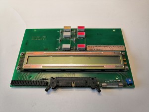 Imaje S4 front panel card ENM10114