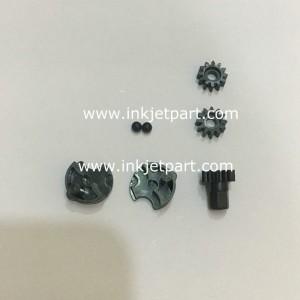 Domino pump gear repair service kits replacement for dual head pump